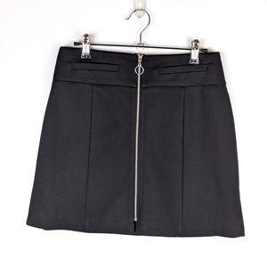 NWOT Candies mini skirt with full zipper front